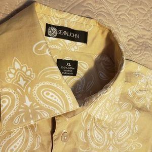 💚Sean John Dress Shirt size XL